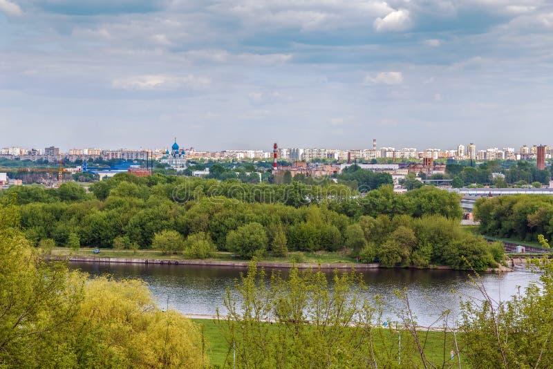 όψη του Κρεμλίνου Μόσχα Ρωσία στοκ εικόνες