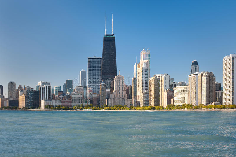 όψη του Σικάγου στοκ φωτογραφία με δικαίωμα ελεύθερης χρήσης