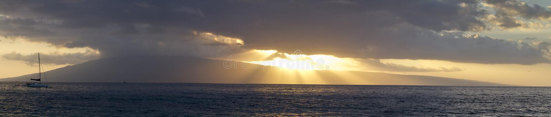 Όψη Maui Ka'ana'pali στοκ φωτογραφία με δικαίωμα ελεύθερης χρήσης