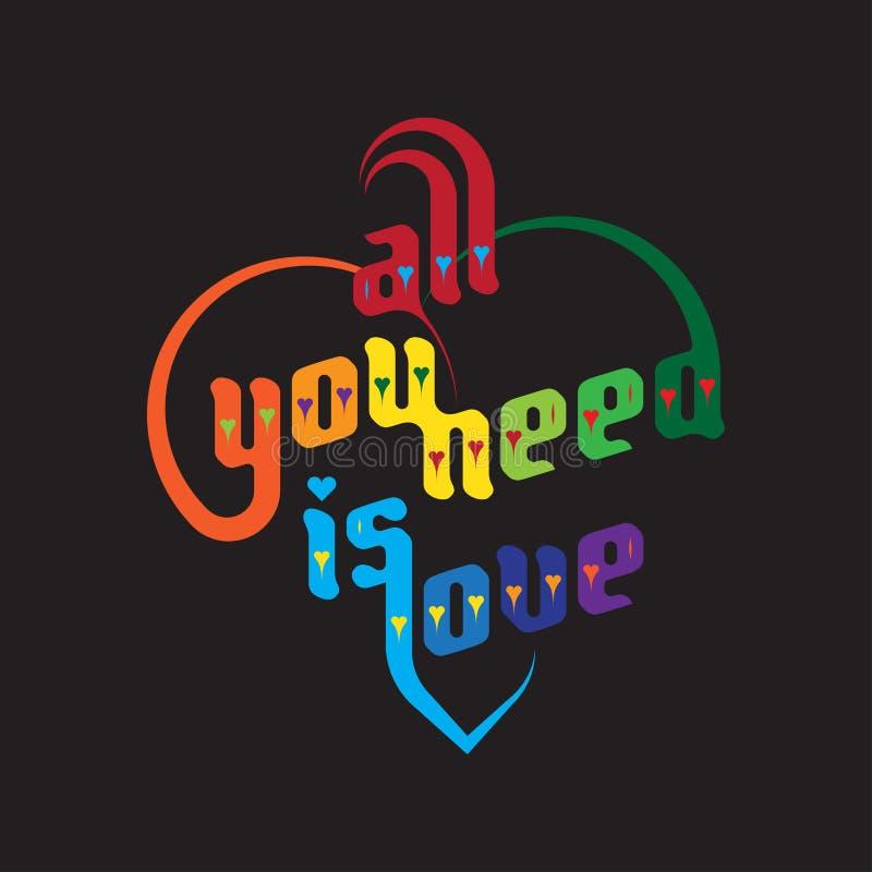 όλη η αγάπη σας χρειάζεται απεικόνιση αποθεμάτων