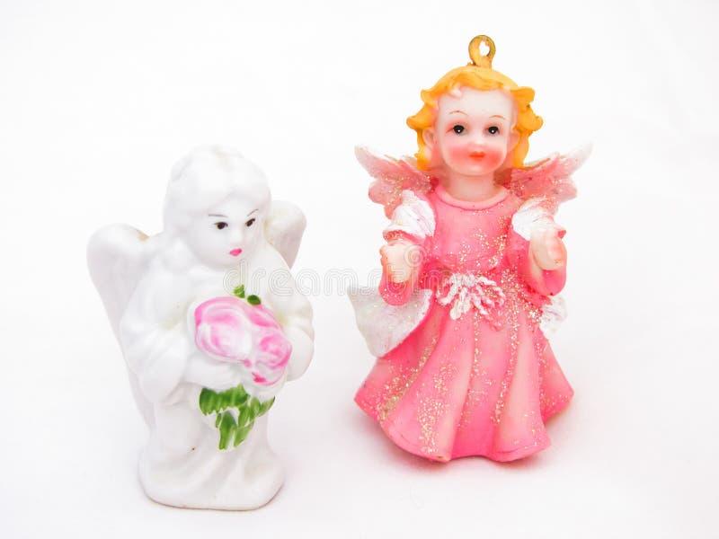 όλοι οι άγγελοι οποιεσδήποτε μεμονωμένες συστάσεις μεγέθους κλίμακας αντικειμένων απεικόνισης στοιχείων Χριστουγέννων στο διάνυσμ στοκ εικόνα