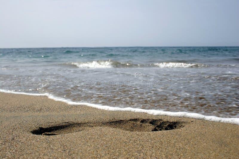 ύδωρ ίχνους στοκ εικόνα με δικαίωμα ελεύθερης χρήσης