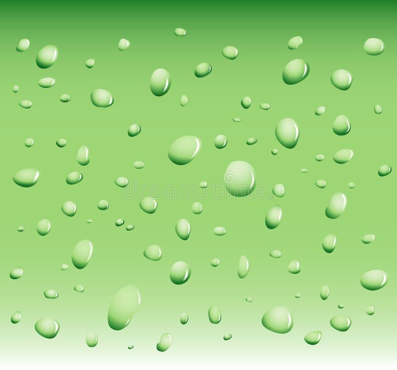 ύδωρ απελευθερώσεων διανυσματική απεικόνιση
