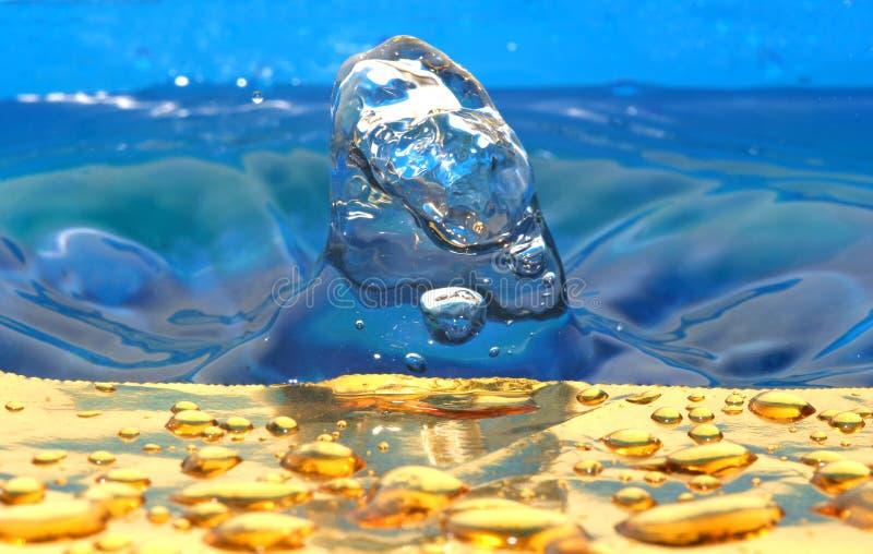 ύδωρ απελευθερώσεων στοκ εικόνα