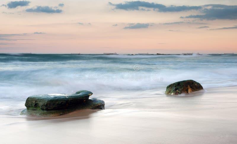 ύδωρ ηλιοβασιλέματος βρά στοκ εικόνες με δικαίωμα ελεύθερης χρήσης