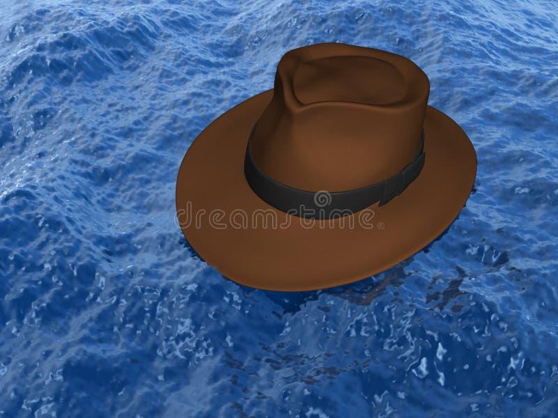 ύδωρ καπέλων απεικόνιση αποθεμάτων
