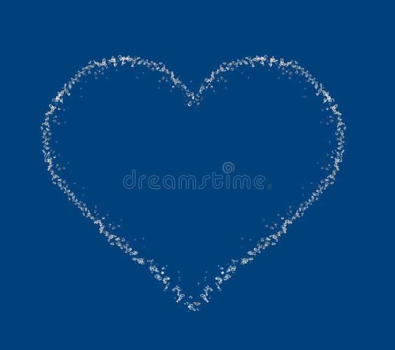 ύδωρ καρδιών απελευθερώ&si απεικόνιση αποθεμάτων