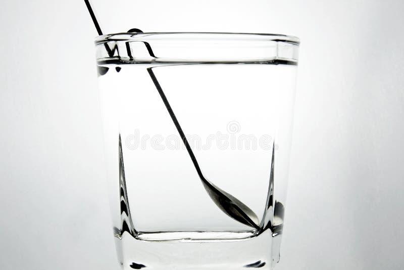 ύδωρ κουταλιών στοκ εικόνα με δικαίωμα ελεύθερης χρήσης