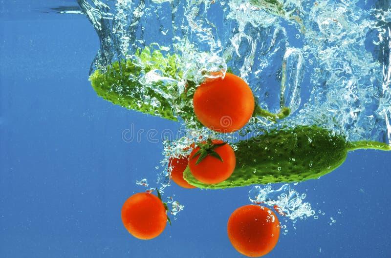 ύδωρ λαχανικών στοκ φωτογραφίες