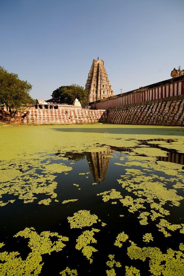 ύδωρ ναών λιμνών hinduist στοκ φωτογραφία