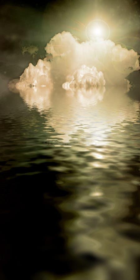 ύδωρ ουρανού ν διανυσματική απεικόνιση