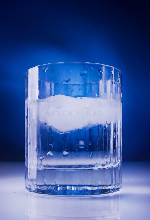 ύδωρ πάγου γυαλιού στοκ εικόνες με δικαίωμα ελεύθερης χρήσης
