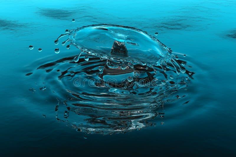 ύδωρ παφλασμών ελεύθερη απεικόνιση δικαιώματος