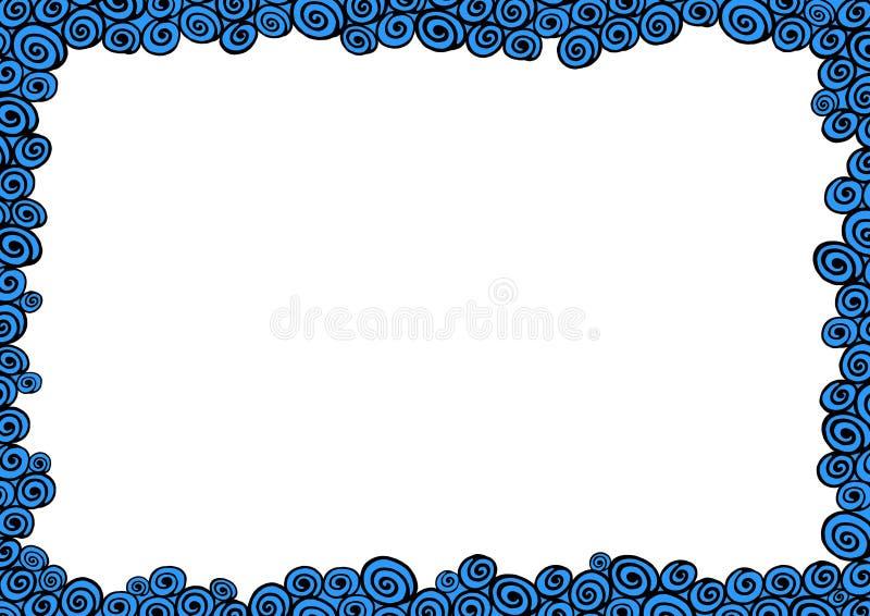 ύδωρ πλαισίων διανυσματική απεικόνιση