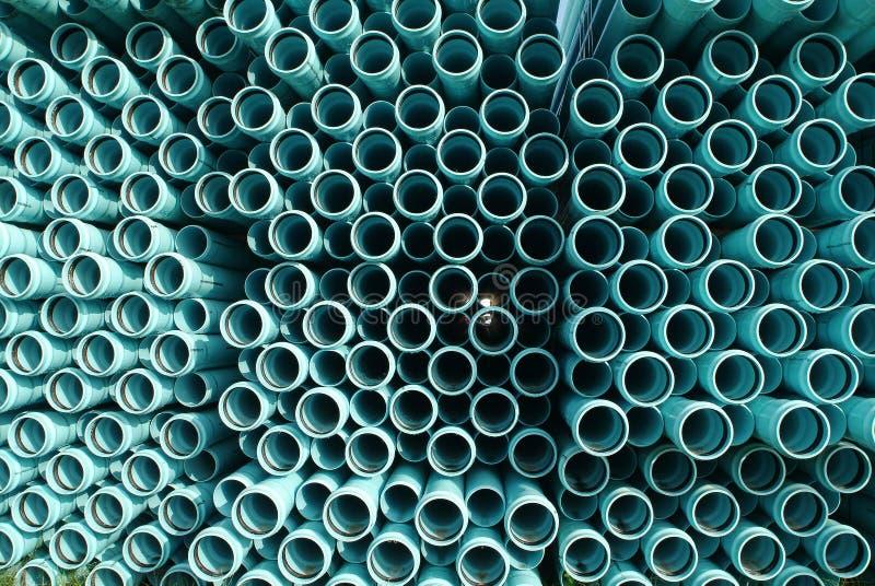 ύδωρ υπονόμων PVC σωλήνων γρα&mu στοκ φωτογραφία με δικαίωμα ελεύθερης χρήσης
