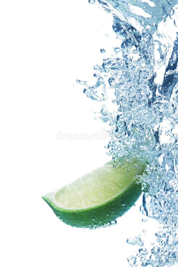 ύδωρ φετών ασβέστη στοκ φωτογραφίες με δικαίωμα ελεύθερης χρήσης