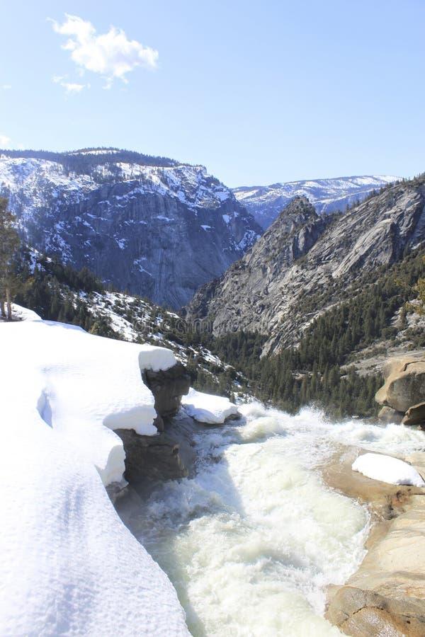 ύδωρ χιονιού βουνών στοκ φωτογραφία με δικαίωμα ελεύθερης χρήσης