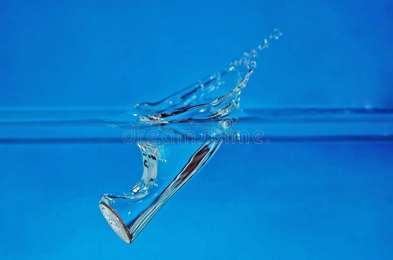 ύδωρ 2 παφλασμών στοκ εικόνα