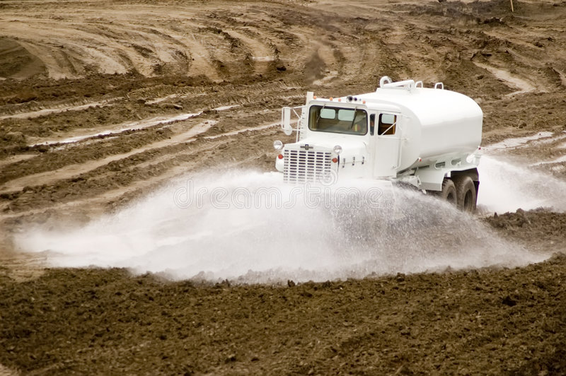ύδωρ truck στοκ εικόνες
