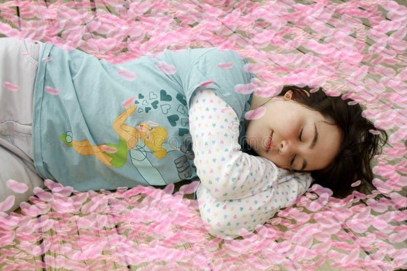 ύπνος αρώματος στοκ φωτογραφίες