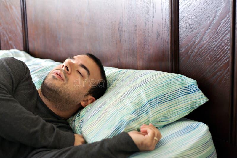 Ύπνος ατόμων στο σπορείο στοκ εικόνες με δικαίωμα ελεύθερης χρήσης