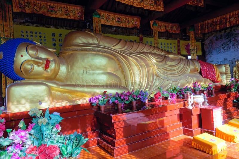 Ύπνος Βούδας στοκ φωτογραφίες