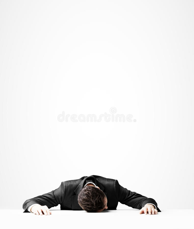 Download Ύπνος επιχειρηματιών στοκ εικόνα. εικόνα από dreaming - 62705487