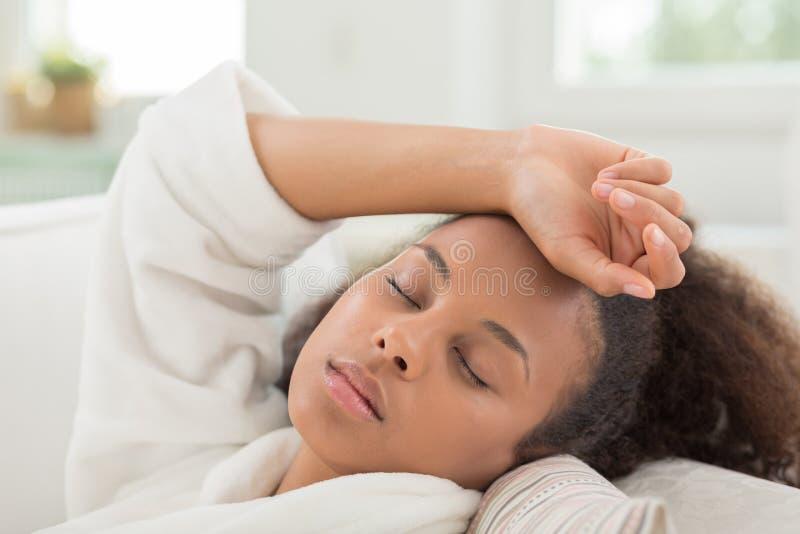 Ύπνος κατά τη διάρκεια της ημέρας στοκ εικόνα