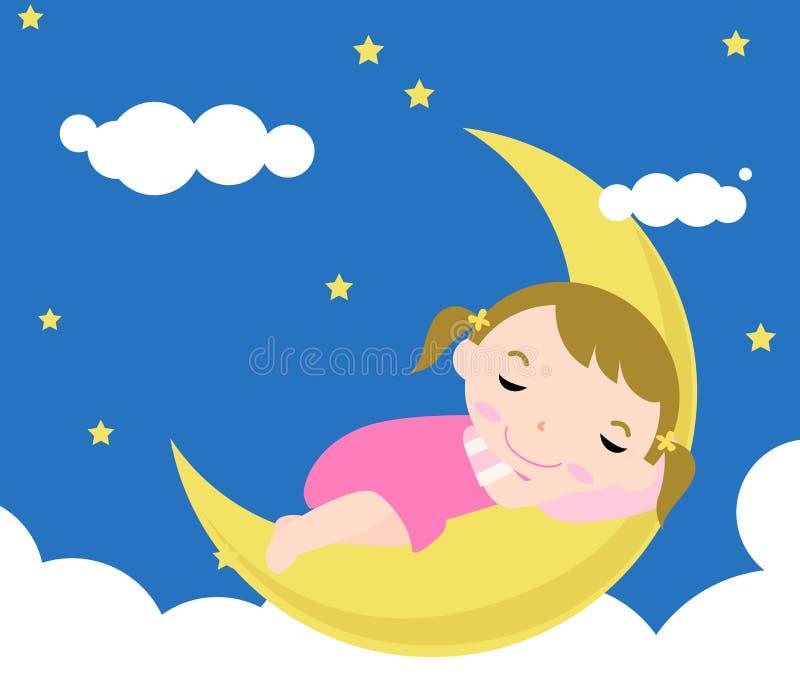 ύπνος μωρών ελεύθερη απεικόνιση δικαιώματος