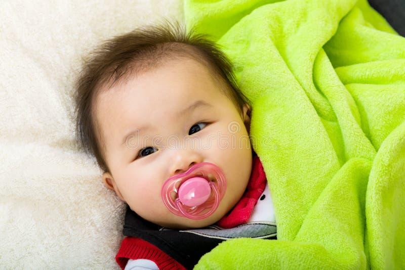 Ύπνος μωρών στοκ εικόνες