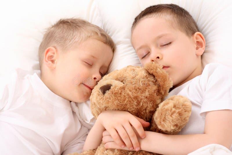 ύπνος παιδιών στοκ φωτογραφία