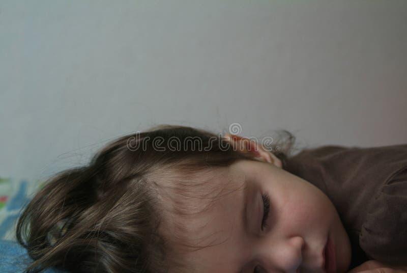 ύπνος παιδιών στοκ εικόνες