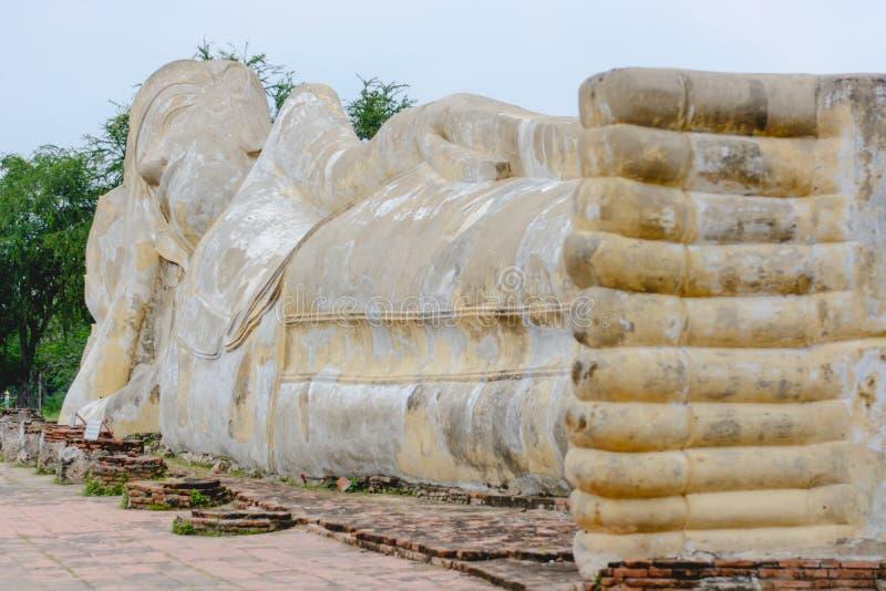 ύπνος του Βούδα στοκ εικόνα