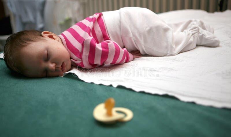 ύπνος 02 μωρών στοκ εικόνα