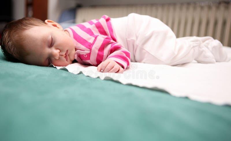 ύπνος 05 μωρών στοκ εικόνες