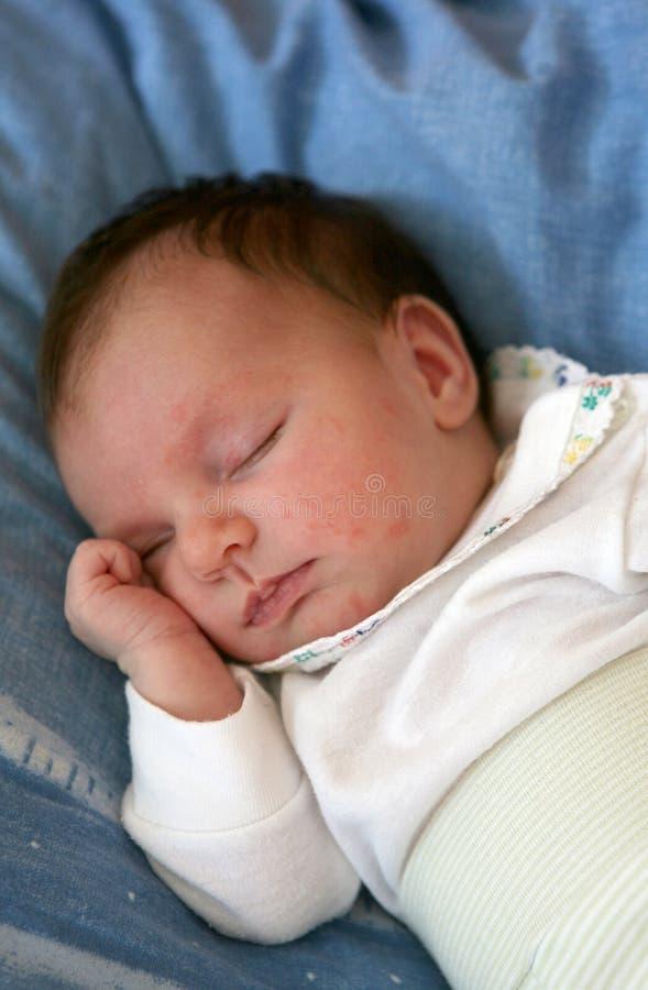 ύπνος 08 μωρών στοκ εικόνα