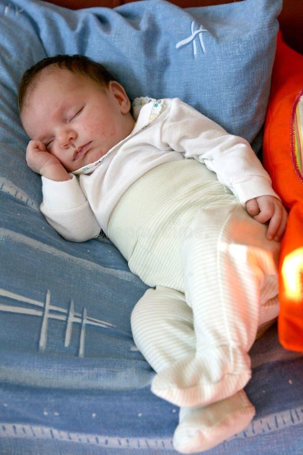 ύπνος 09 μωρών στοκ εικόνα