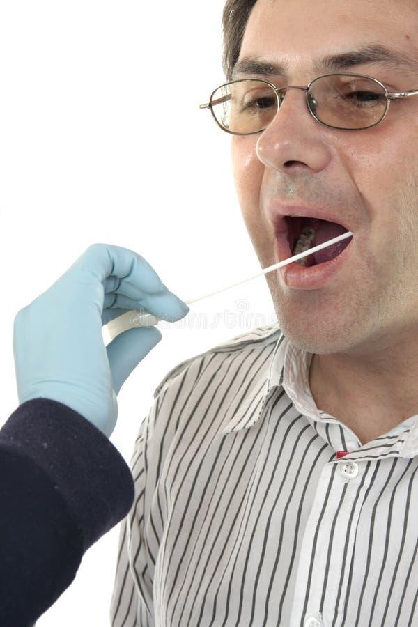 ύποπτη πατσαβούρα DNA εγκλήμ&a στοκ φωτογραφίες με δικαίωμα ελεύθερης χρήσης