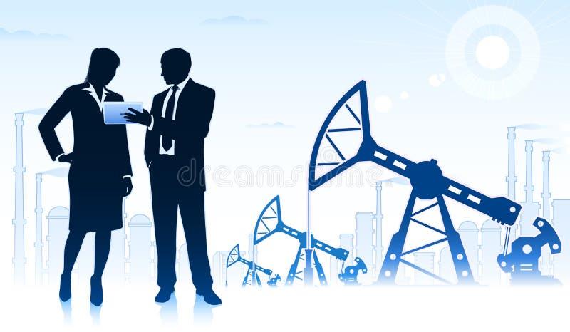 δύση της Σιβηρίας πετρελαίου βιομηχανίας διάτρυσης καλά απεικόνιση αποθεμάτων