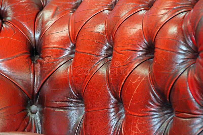Ύφασμα ακολουθίας δέρματος του Τσέστερφιλντ στοκ εικόνες