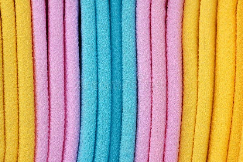 ύφασμα που χρωματίζεται Στοκ Εικόνα
