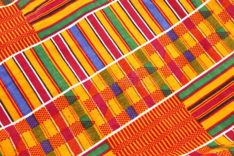 ύφασμα kente στοκ φωτογραφία