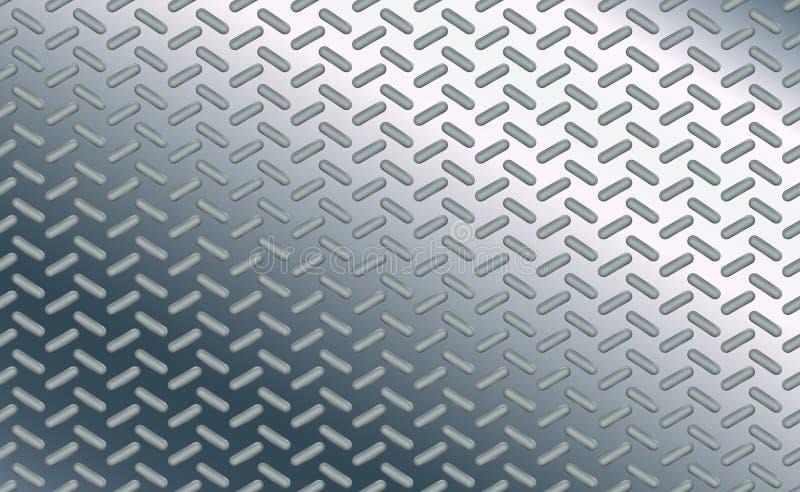 Ύφος έλλειψης σχεδίων υποβάθρου σύστασης Oval στο γυαλισμένο φύλλο του χρωμίου Προσκρούσεις του μετάλλου πατωμάτων χάλυβα Σχέδιο  απεικόνιση αποθεμάτων