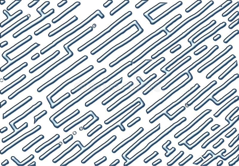 Ύφος αριθμός δεκαπέντε λαβυρίνθου υπόβαθρο, αφηρημένο διάνυσμα με το μεταλλικό θέμα απεικόνιση αποθεμάτων