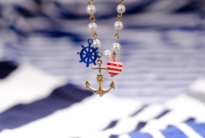 ύφος ναυτικών στοκ φωτογραφία με δικαίωμα ελεύθερης χρήσης