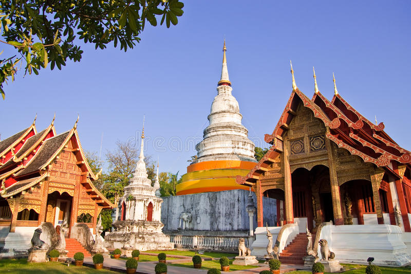 ύφος Ταϊλανδός αρχιτεκτ&omicron στοκ εικόνες
