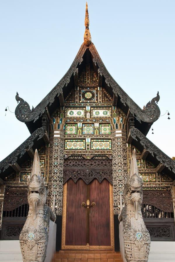 ύφος Ταϊλανδός αρχιτεκτ&omicron στοκ φωτογραφία