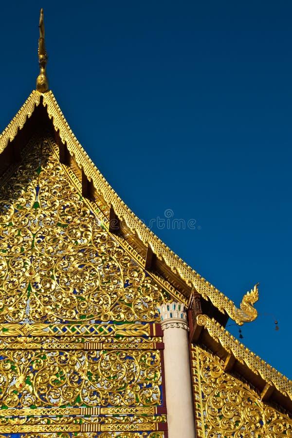ύφος Ταϊλανδός αρχιτεκτ&omicron στοκ φωτογραφία με δικαίωμα ελεύθερης χρήσης