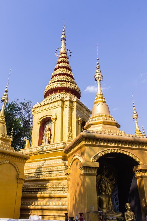 Ύφος της Shan παγοδών σε Pai, Maehongson Ταϊλάνδη στοκ φωτογραφία με δικαίωμα ελεύθερης χρήσης