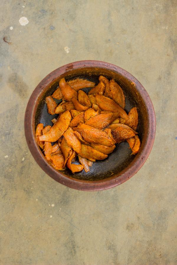Ύφος του Κεράλα τηγανητών ψαριών - φωτογραφία τροφίμων στοκ εικόνες